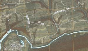 2010 USGS street/topo map