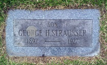 George H. Strausser22 Jan 1889 - 10 Feb 1927