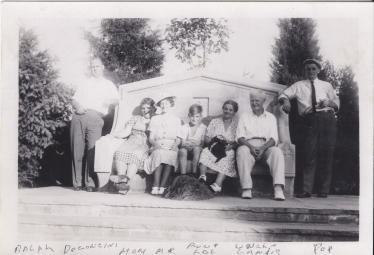Ralph Wetzel, Lillian (Murray) DeConcini, Elizabeth (Osman) Wetzel, Royal Wetzel, Laura (Wetzel) Klinger, Landis Klinger Sr, Howard Wetzel